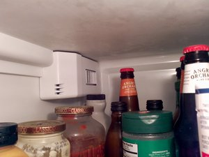 Repairing Side-by-side Refrigerator Diffuser