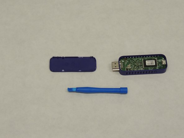 Once you have removed the cover, you can now access the motherboard  of the Roku Streaming Stick.