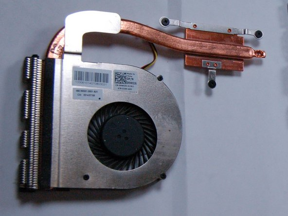 Dell Inspiron 3542 Heat Sink Replacement