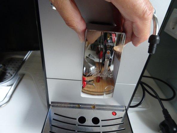 Replacing Coffee Spout Manifold on Melitta Caffeo Solo