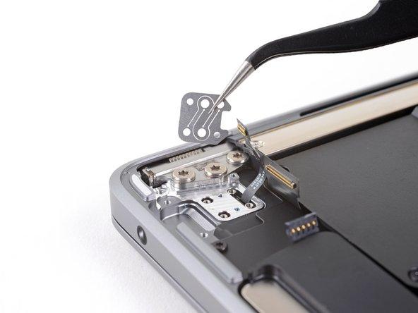 Remove the Touch ID sensor bracket.