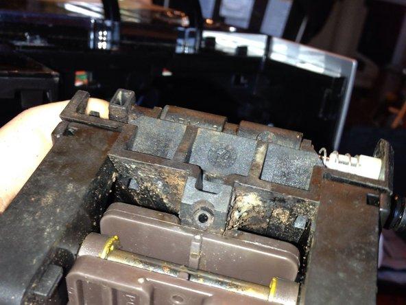 Tamper Assembly Removed - Bottom