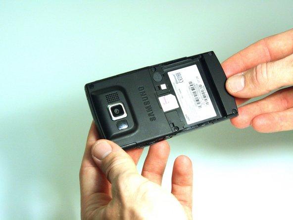 Samsung Blackjack SIM Card Replacement