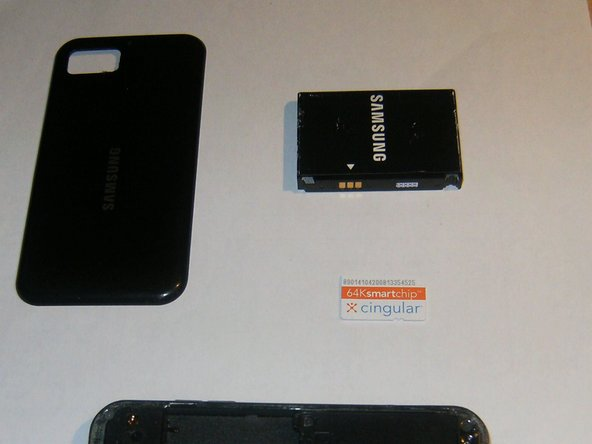 Samsung Eternity Digitizer Replacement