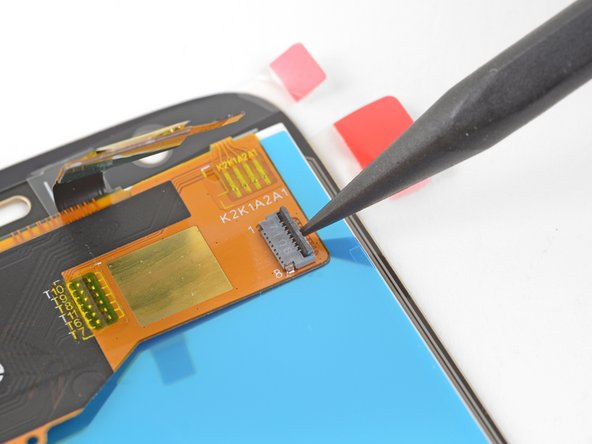 This step shows how to prepare your replacement screen for installation.