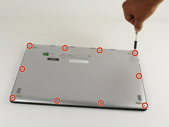 Before opening your laptop, make sure it is powered off.