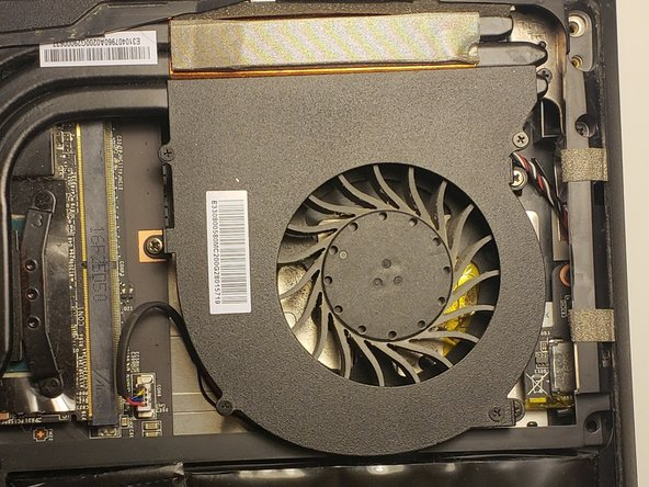 MSI GT62VR 6RD Dominator Cooling Fan Replacement