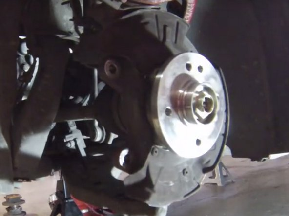 2001-2006 Mini Cooper Wheel Bearing Replacement