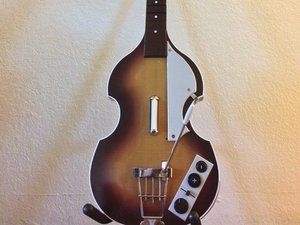 The Beatles Rock Band Hofner Bass Repair