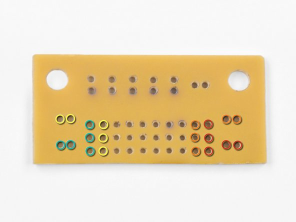 The printed circuit board (PCB) supplied in your kit can be soldered using any rails that you desire. However, we have determined that using the following rails provides a nice, low-profile, fit.
