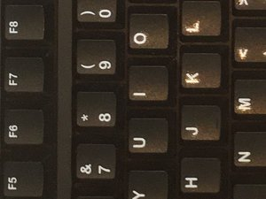 How to Remove The Logitech K120's Keycaps
