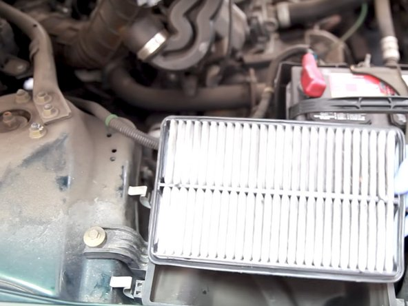 1998-2002 Honda Accord Engine Air Filter Replacement