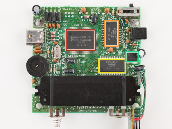 Enhance! Here's what's on the main board of our specific model:
