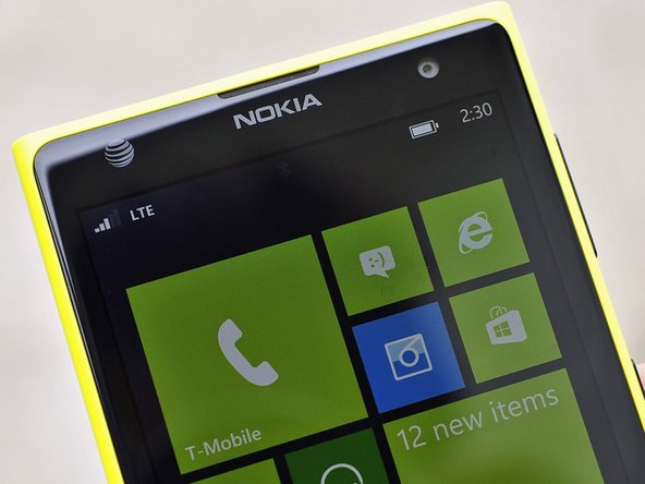 Nokia Lumia 1020 A Glass / Touch Replacement