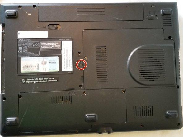 Gateway M-2626u CD Drive Replacement
