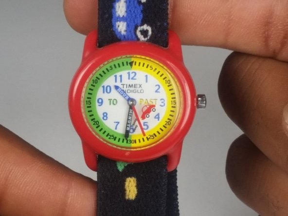 Timex W-10 Children's Watch Battery Replacement