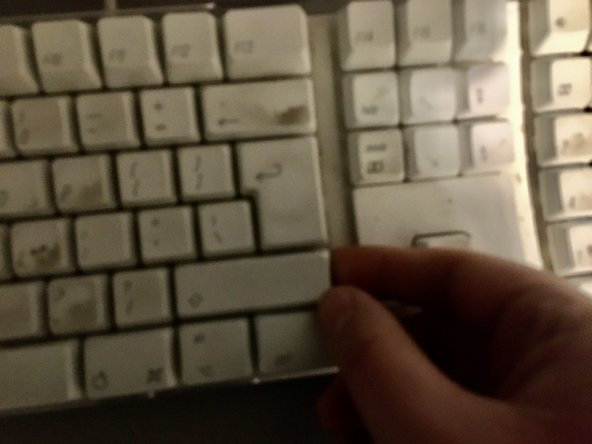 Pull off keycaps