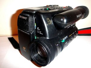 Sony Handycam CCD-TR5 Repair