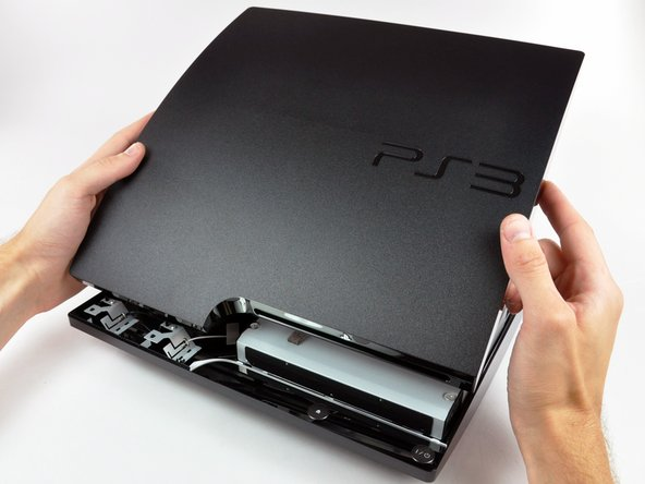 PlayStation 3 Slim Top Cover Replacement
