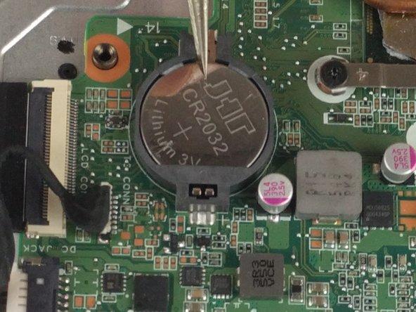 HP Pavilion 15-ab243cl CMOS Battery Replacement