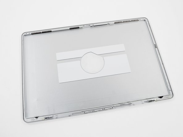 The rear display bezel remains.