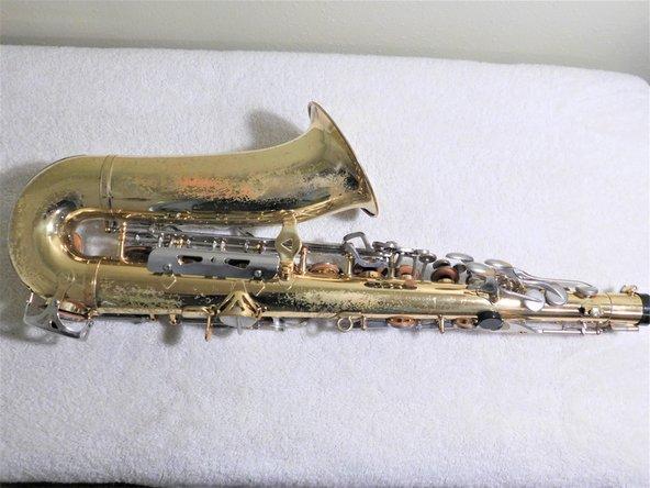 Sticky Key Saxophone Fix