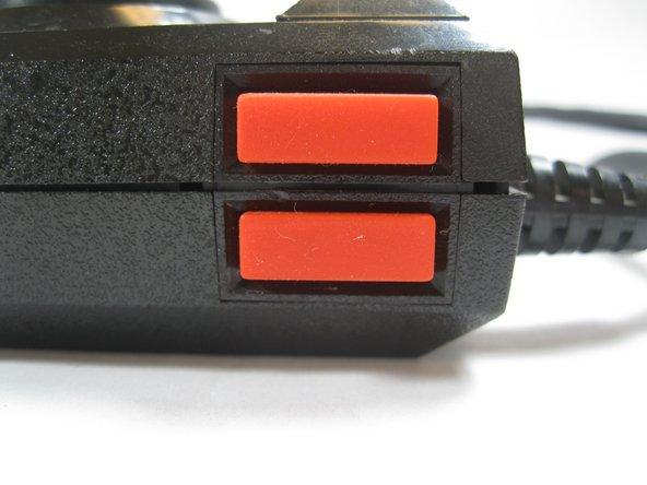 Atari 5200 Controller Side Buttons Replacement
