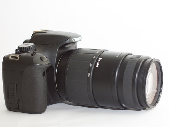 Canon EOS Rebel T2i Focusing Screen Replacement