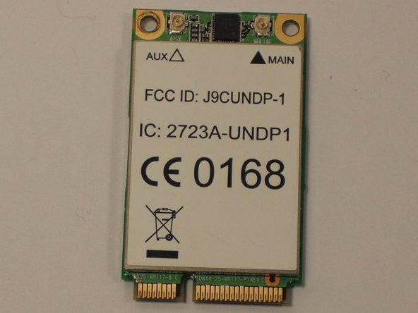 Acer Aspire One ZG5 Wireless Card Replacement
