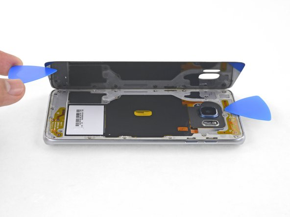 Samsung Galaxy S6 Edge+ Rear Glass Replacement