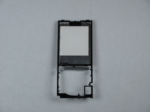 Zune Flash 2nd Generation Center Frame Replacement