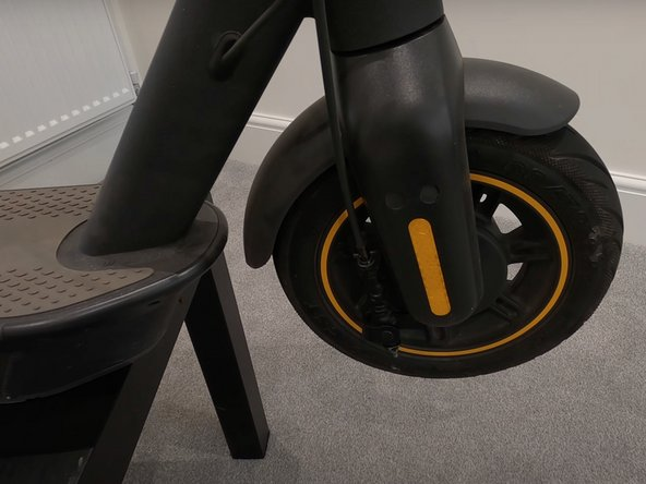Segway Ninebot Max Front Tire Repacement