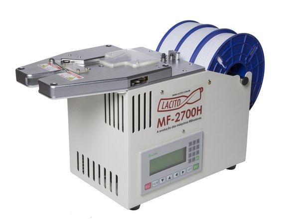A fitilhadora MF 2700H é uma das fitilhadoras semi-automáticas mais completas do mercado.