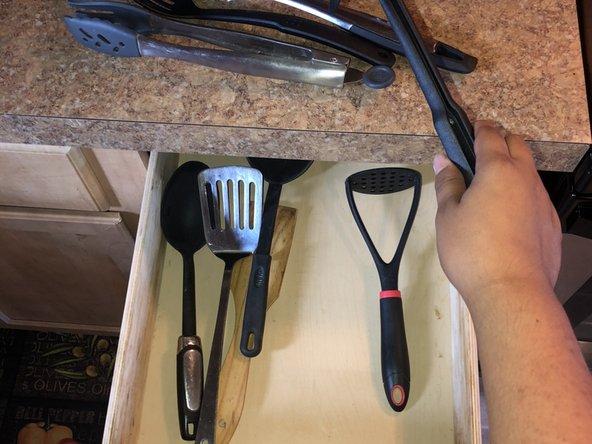 Kitchen Drawer Rear Mounts Replacement