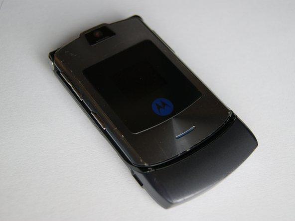 A Motorola V3i!