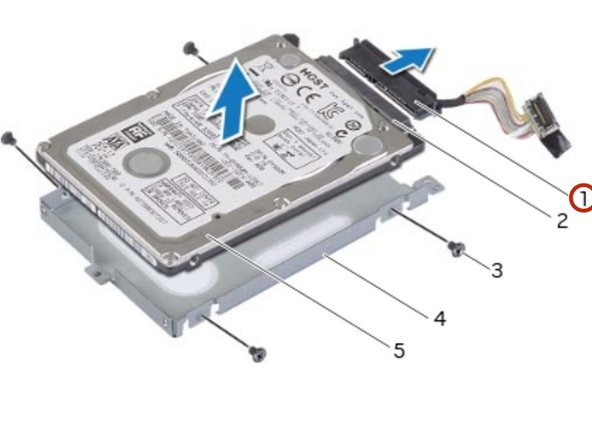 Disconnect the interposer from  the primary hard-drive connector.