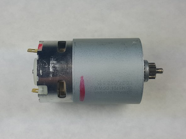 Bosch PS21 Motor Replacement