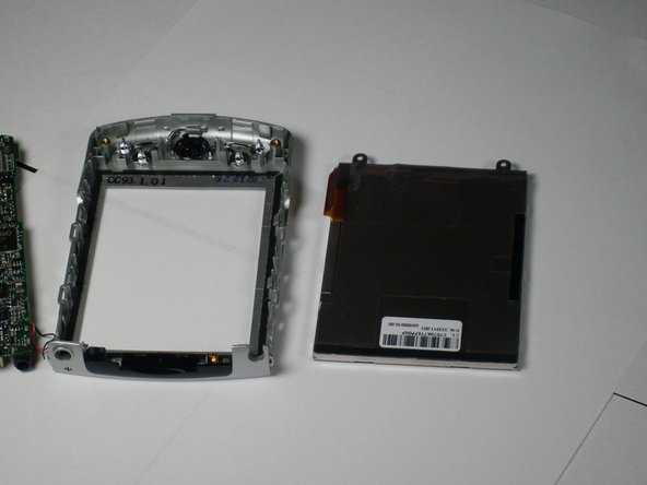 HP iPAQ H2200 faceplate replacement