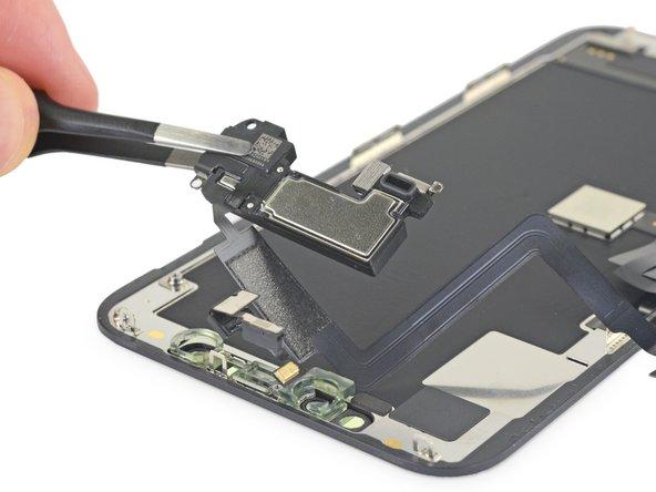 Reemplazo de ensamblaje del sensor frontal y altavoz auricular del iPhone 11 Pro