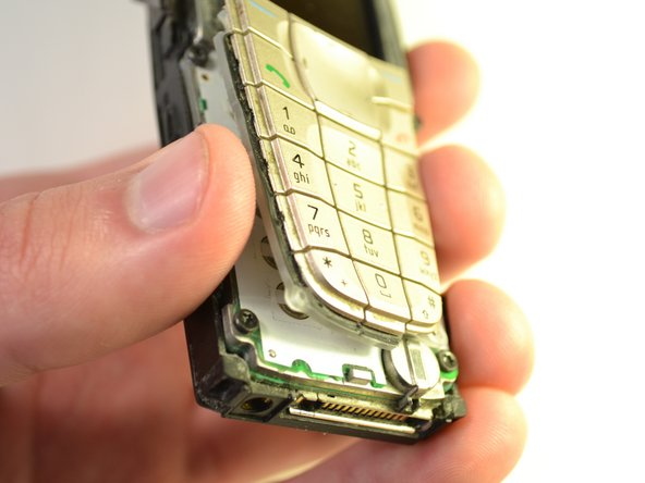 Separate the keypad from the phone and place aside.