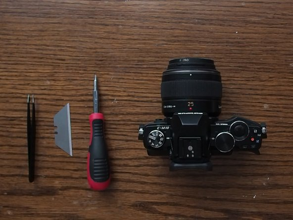 Olympus OM-D E-M10 Disassembly