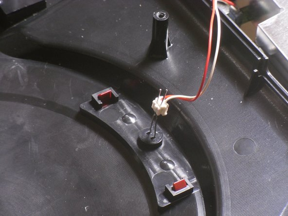 Bend out the LED leads into vertical positions.