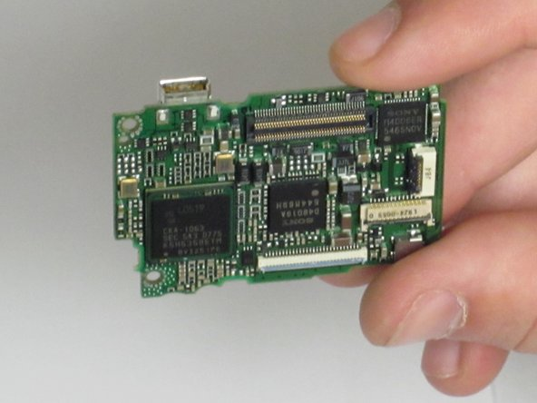 Canon Powershot SD550 Motherboard Replacement