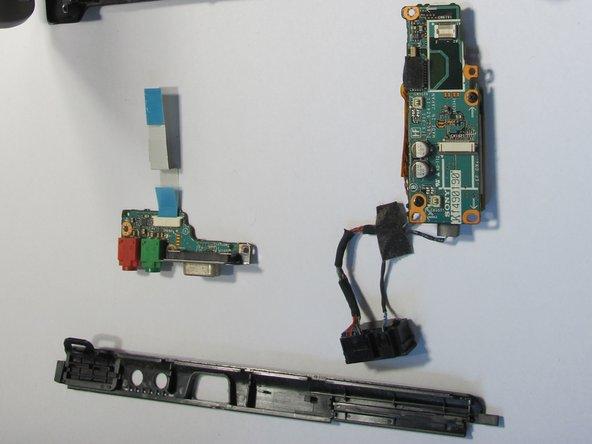 Sony Vaio VGN-S260 イーサーネットポートの交換