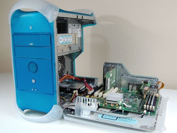 Power Macintosh G3 Blue and White RAM Replacement