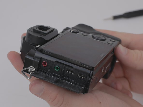 Sony a7 Rear Disassembly  Replacement