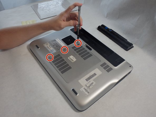Dell XPS 15-L502X Back Panel Replacement