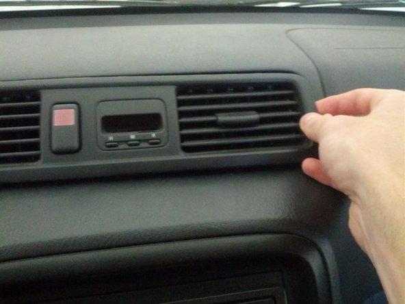 Remove the panel.