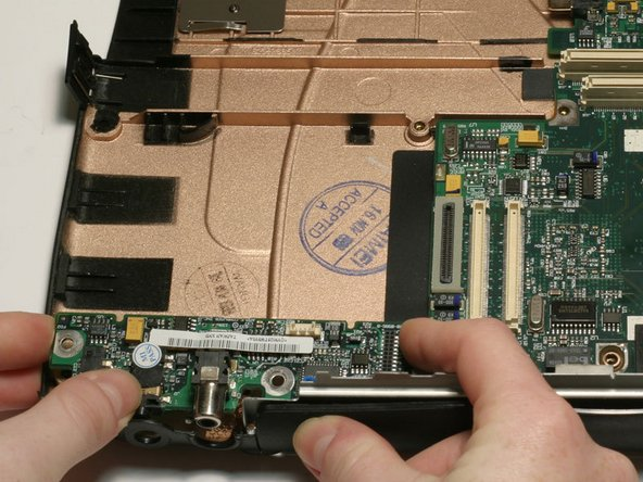 PowerBook G3 Wallstreet DC & Sound Card Replacement