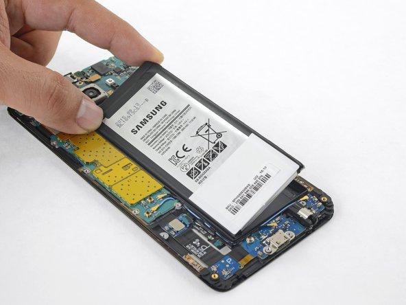 Samsung Galaxy S6 Edge+ Akku austauschen